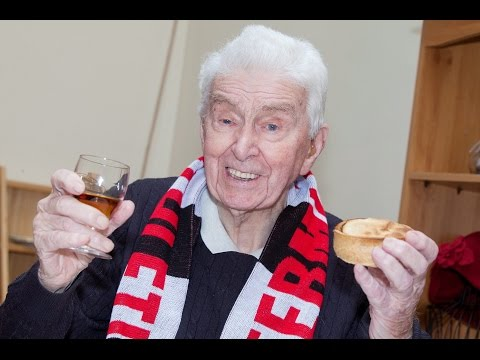 A former marine has celebrated his 106th birthday