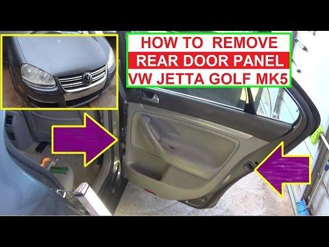 Volkswagen jetta driver 39 s door panel how to remove 99 to for 1999 vw passat window regulator clips