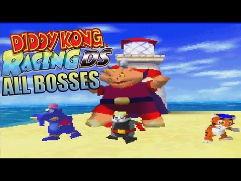 Diddy Kong Racing DS All Bosses