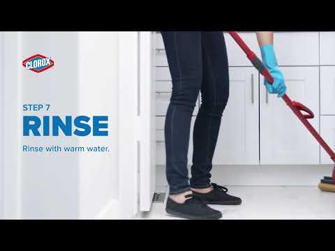Clorox® How To Clean Tile Floors