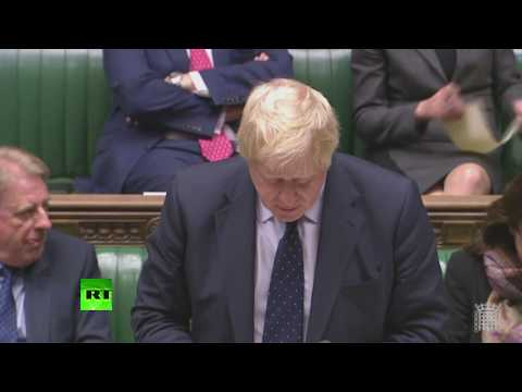 LIVE: Boris Johnson updates MPs on his trip to Iran, UAE and Oman