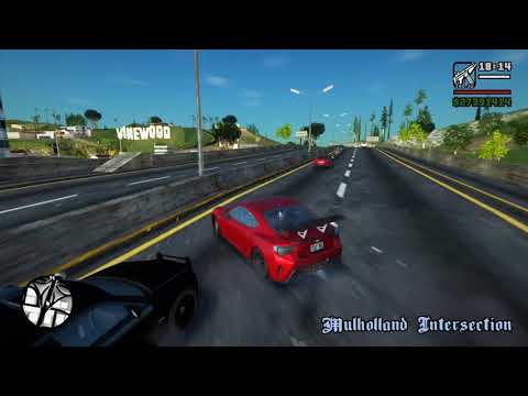 GTA San Andreas SA_DirectX 2.0 ENB Gameplay
