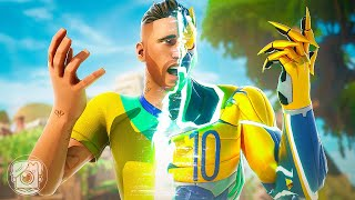 NEYMAR JR. ORIGIN STORY! (A Fortnite Short Film)