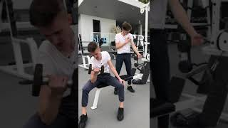Cool Things Only Twins Can Do / TwinsFromRussia tiktok #shorts