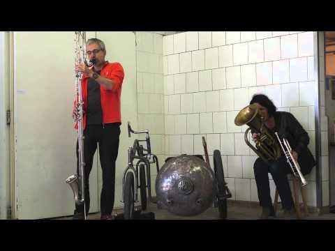 Arditti-Boscain duo live at festival UPSKY one, Romanville 21/06/2015
