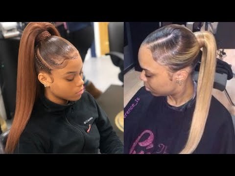 Ponytail Hairstyles 💕Compilation 2020