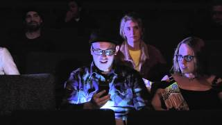 PSA Don't Text and Talk in a Movie Theater