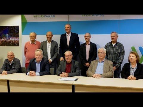 Wethouder Mijnans ondertekend prestatieafspraken 2019 / Spijkenisse 2018