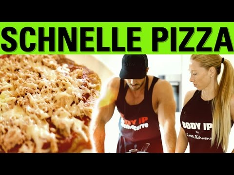 Schnelle Pizza Rezept Feat Mara Youtube