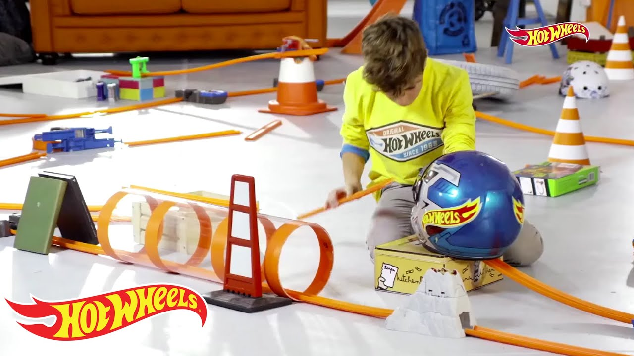 the mix track hot wheels youtube. Black Bedroom Furniture Sets. Home Design Ideas