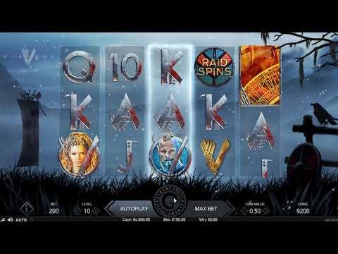 Игровой автомат Vikings (NetEnt)