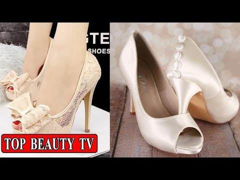 Ivory Shoes, White Wedding Shoes, Comfortable Bridal Shoes For Women