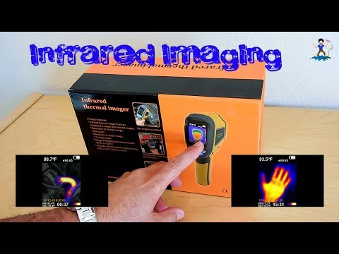 HT-02 Infrared Thermal Imager(Affordable Version of a FLIR)