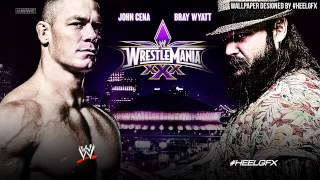 2014: John Cena vs. Bray Wyatt WWE WrestleMania 30 (XXX) Theme Song -