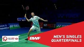 QF | MS | Tommy SUGIARTO (INA) vs NG Ka Long Angus (HKG) | BWF 2019