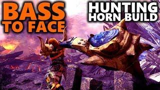 BASS TO FACE! - Hunting Horn Build - Monster Hunter World