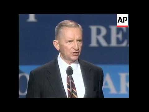 USA: ROSS PEROT IS CANDIDATE FOR NEWLY FORMED REFORM PARTY