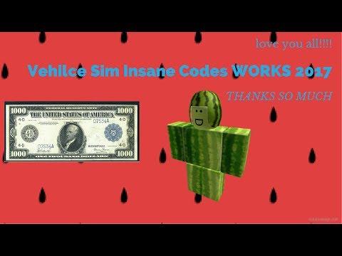 ALL VEHICLE SIM CODES INSANE MONEY BOOST (OVER 110K)