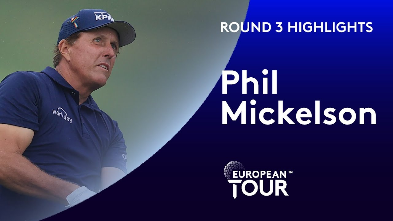 Phil Mickelson cards 7 birdies on moving day in Memphis | 2020 WGC-FedEx St. Jude Invitational