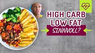 High Carb Low Fat 80%10%10% sinnvoll oder Schwachsinn❓❓