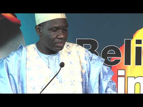 Closing Ceremony by Alamine Ousmane Mey, Cameroon's Minister of Finance