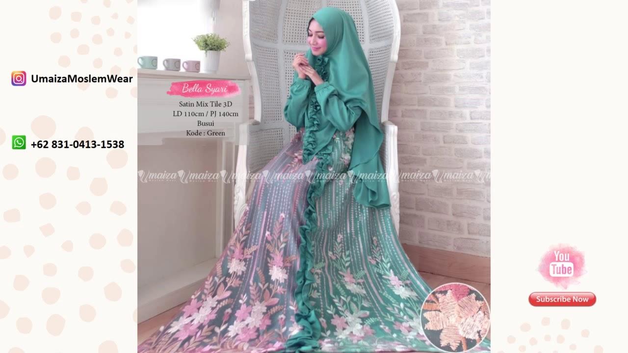 Model Baju Gamis Brokat Duyung Wa 62 831 0413 1538 Gamis Batik Trendy 2019