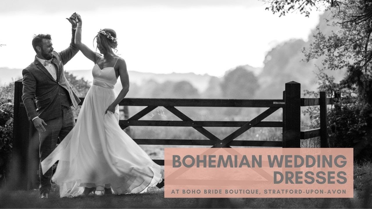 Bohemian Wedding Dresses at Boho Bride Boutique   YouTube