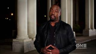 Your First Look at Malik Yoba Hosting Justice By Any Means