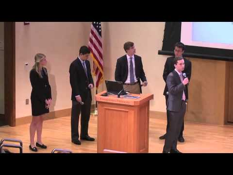 2013 Undergraduate Case Competition Final Round