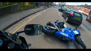 Biker Smash Mirror | Extremely Close Calls, Road Rage, Crashes & Scary Motorcycle Accidents [EP #83]