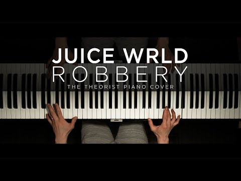 Juice WRLD - Robbery  The Theorist Piano Cover