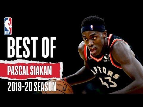Best Of Pascal Siakam   2019-20 NBA Season