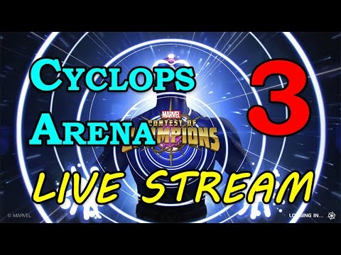 Cyclops Arena - Round 2 - Part 3 | Marvel Contest of Champions Live Stream