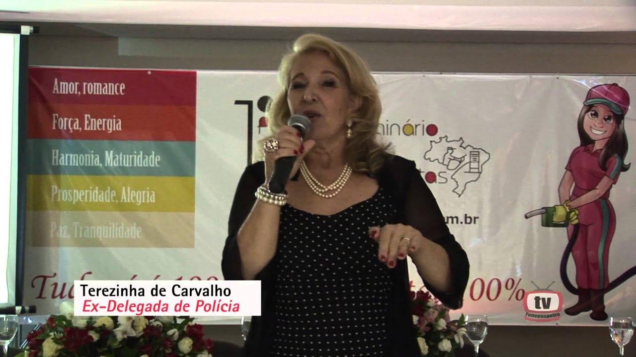 Terezinha de Carvalho - Delegada de Polícia Aposentada.