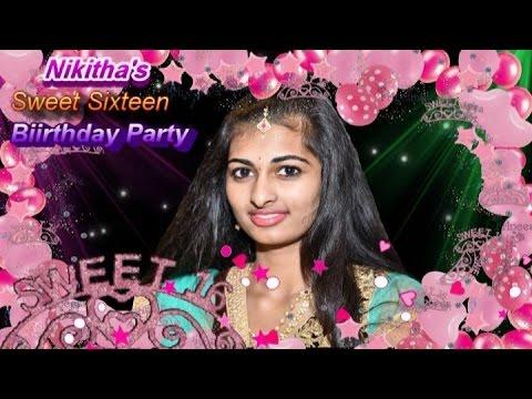 Nikithas Sweet 16 Party Digital Album
