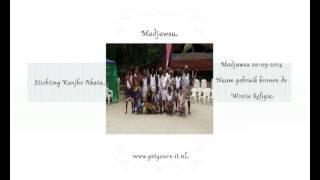 Madjawsu 20-09-2014 Naam gebruik binnen de Winti Religie