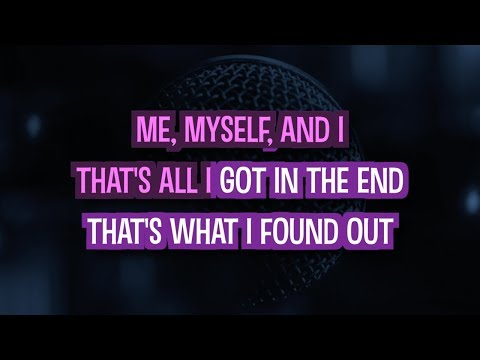Me, Myself And I Karaoke Version by Beyonce (Video with Lyrics)