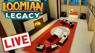 🔴ROBLOX LOOMIAN LEGACY LIVE Nuzlocke CHALLENGE!