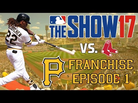 MLB 17 The Show: Pittsburgh Pirates Franchise - Gerrit Cole vs. Chris Sale on Opening Day [Y1G1 EP1]