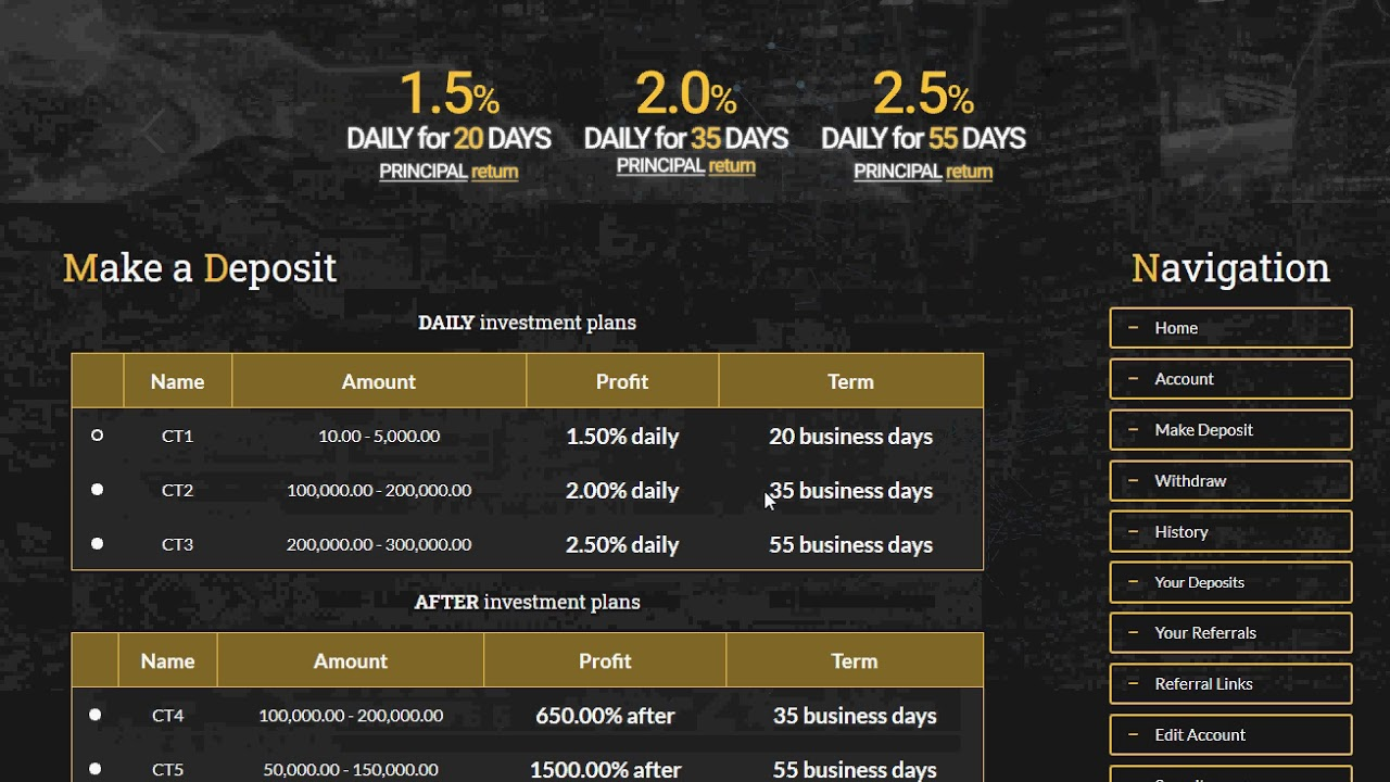 COMEX Trades - comextrades.com - The Bitcoin Forum