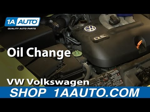 How To Do an Oil Change 98-10 Volkswagen Beetle
