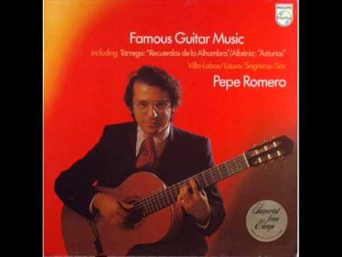 """""""Famous Guitar Music""""   Pepe Romero (full 1977 vinyl album)"""
