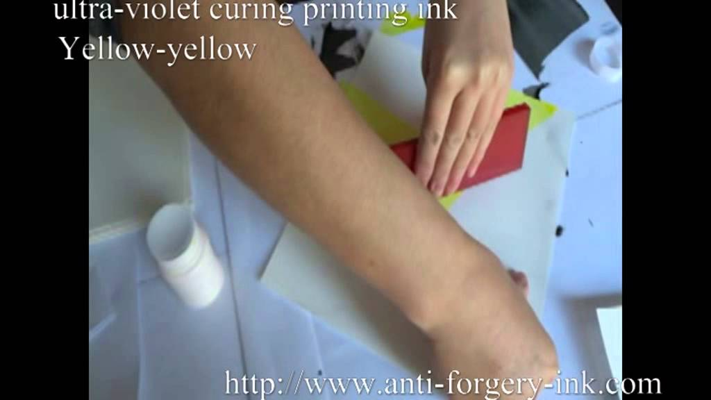 how to make uv ink at home