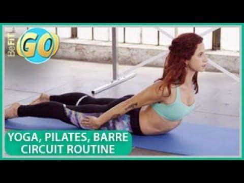 Yoga, Pilates & Barre Body Shaper Workout: BeFiT GO- 15 Mins
