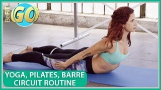 Yoga, Pilates & Barre Body Shaper Workout: BeFiT GO- 15 Mins