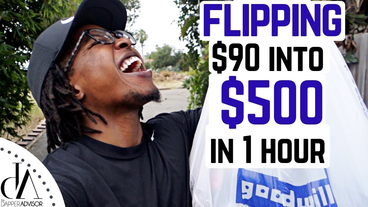 [VIDEO] - FLIPPING $90 INTO $500 IN 1 HOUR! | Trip To The Thrift #29 5