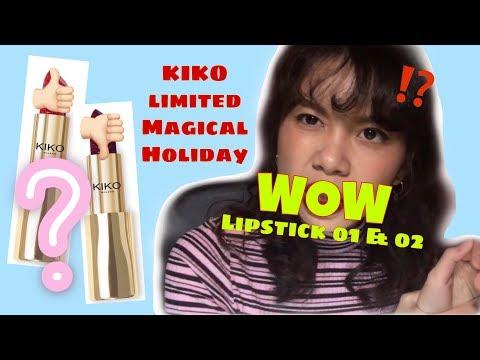 kiko-magical-holiday-wow-lipstick-01-&-02-review- -sheilacyl
