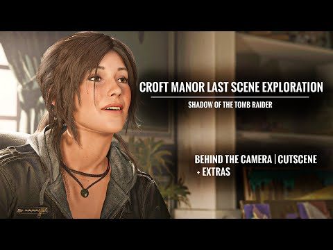CROFT MANOR | Last/After Credit Scene Exploration, Winston And More! - Shadow Of The Tomb Raider