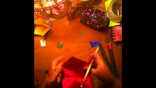 How To Make A Fortune Teller/cootie Catcher