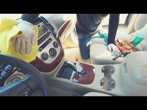 COMPLETE Interior Cleaning & ENGINE Cleaning on 2007 Hyundai Santa Fe - Car Detailing Tips